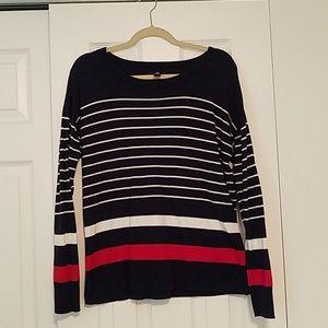 GAP Large Striped Sweater